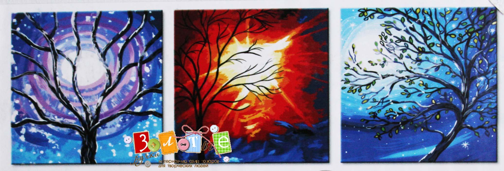 Раскраска с масляными красками
